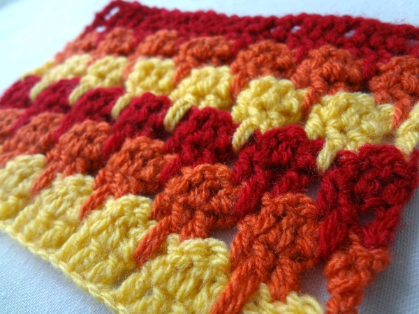 crochet larksfoot