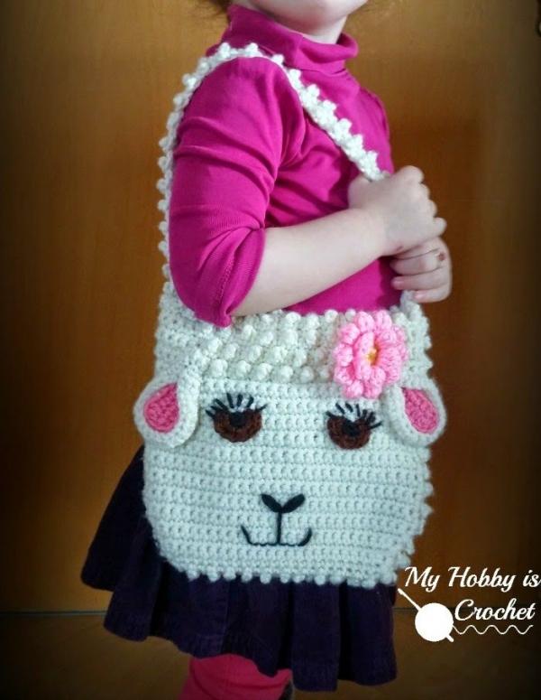 Sheep purse free crochet pattern @myhobbyiscroche; it is The Year of ...