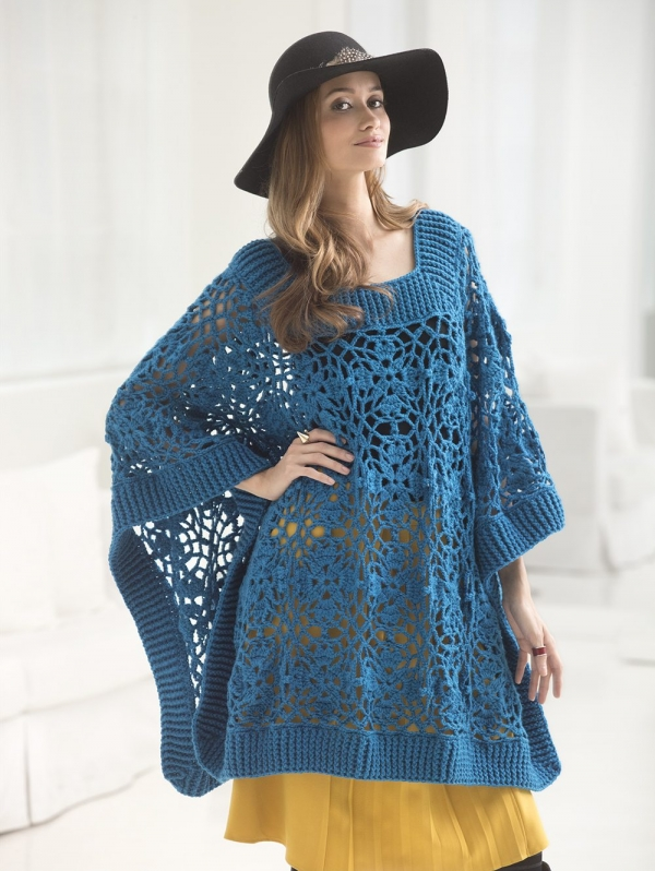 Free Crochet Sweater Patterns : Lace Crochet Sweater Patterns Free Crochet Sweater Pattern