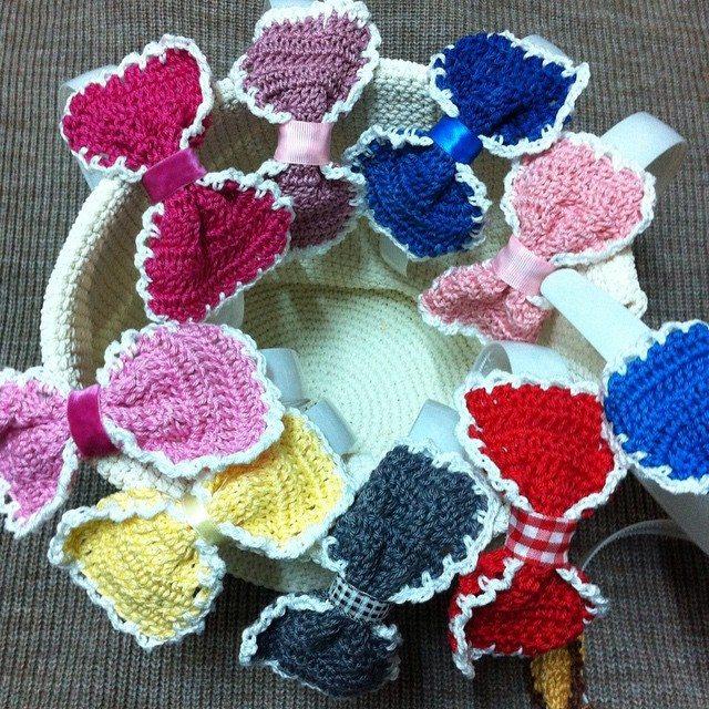 crochet_hj1436 crochet bows