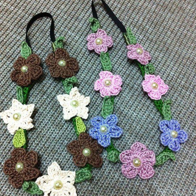 crochet_hj1436 flowers