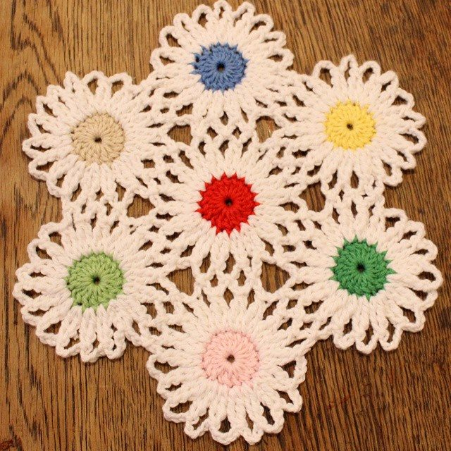 crochetgirl99 crochet flowers