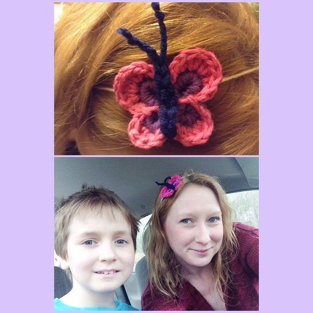 crochetingthruchronicdiseases crochet butterfly