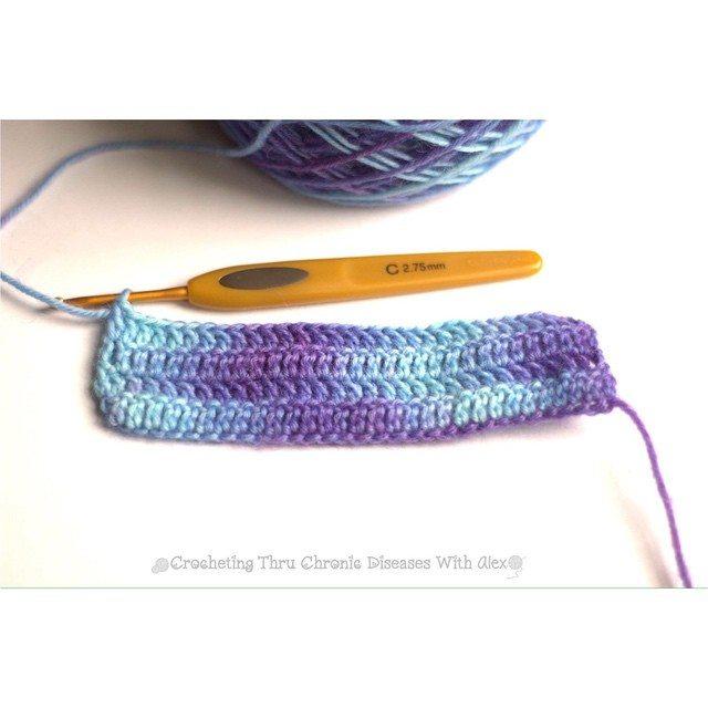 crochetingthruchronicdiseases yarn dyed crochet