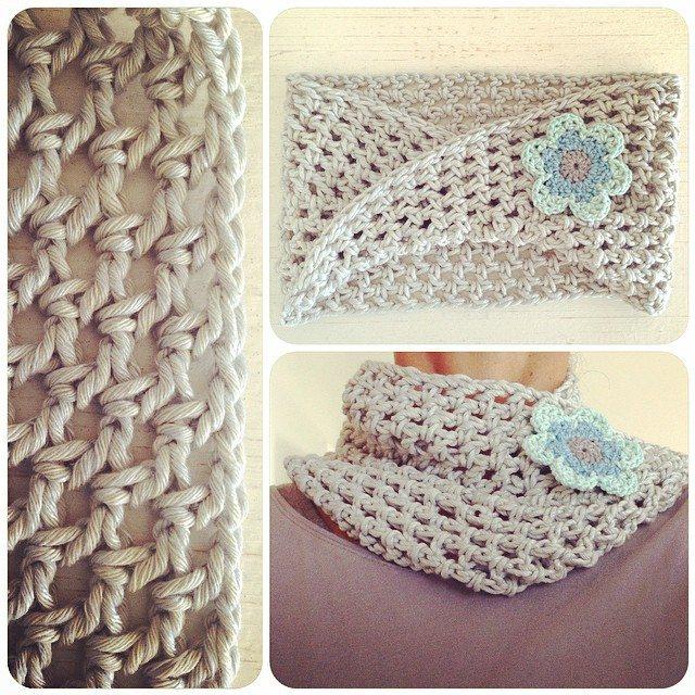 crochetinpaternoster crochet cowl