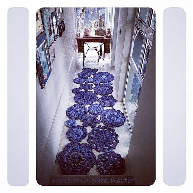 crochetinpaternoster crochet hallway