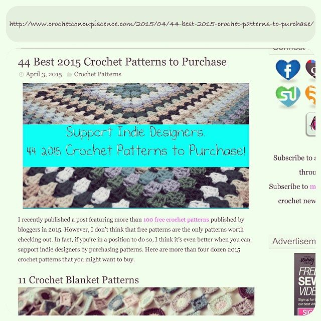 crochetinpaternosters crochet patterns