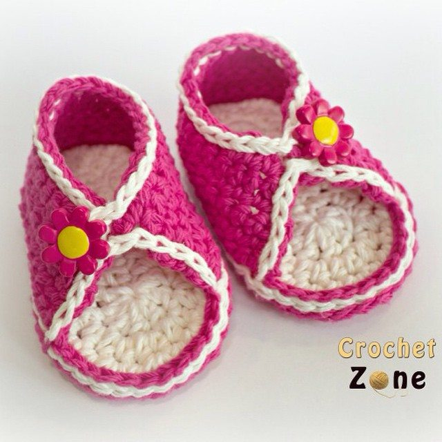 crochetzoneblog crochet shoes pattern