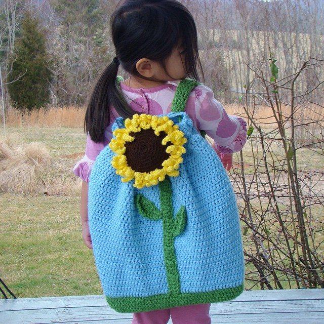 cuddlebugkids crochet backpack