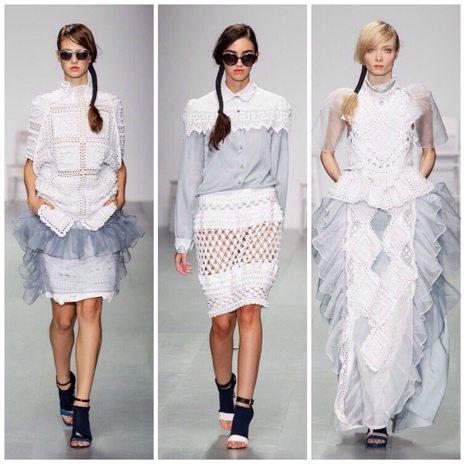 designer crochet fashion