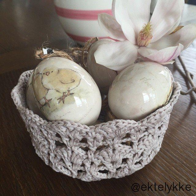 ektelykke crochet bowl