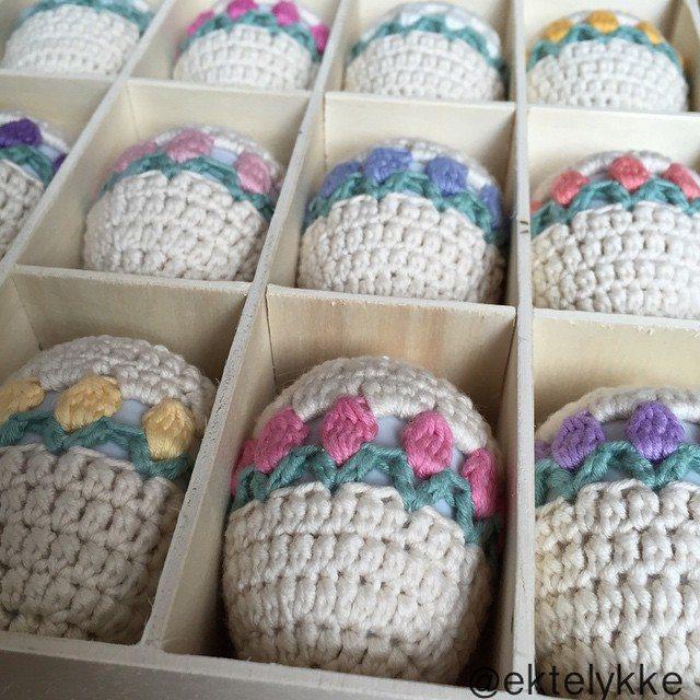 ektelykke crochet easter eggs