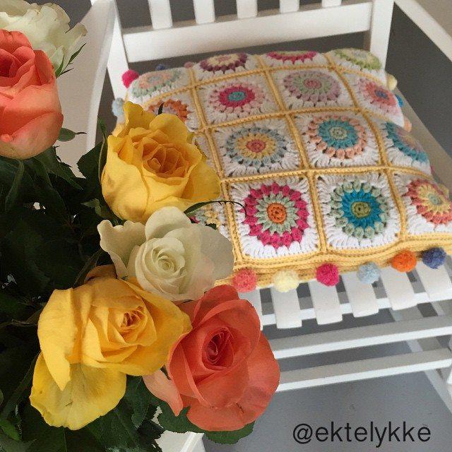 ektelykke crochet flowers
