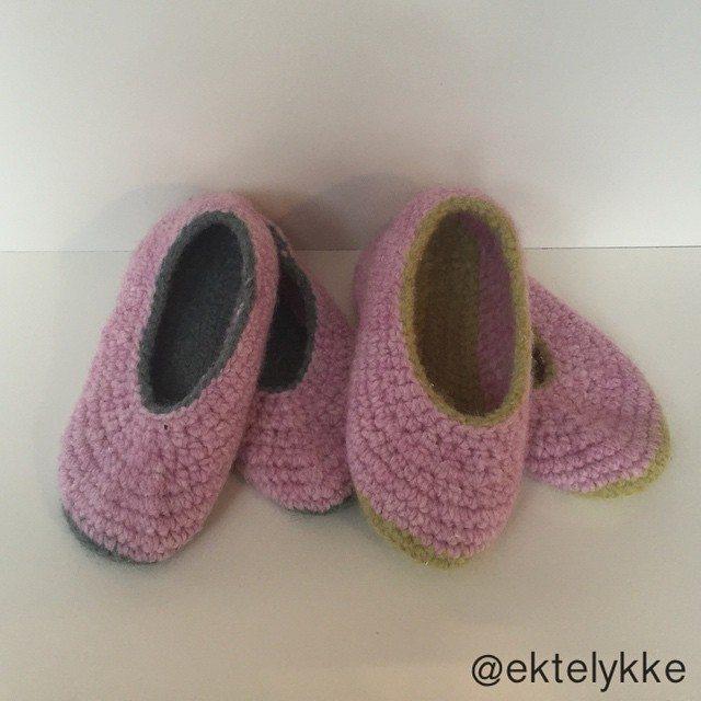ektelykke crochet shoes