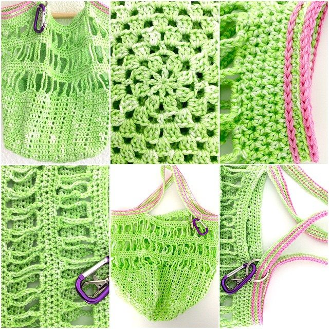 elisabethandree crochet bag