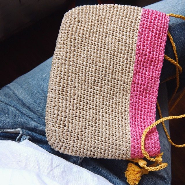 feranatal crochet bag