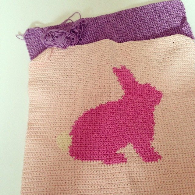 flamingpot easter bunny crochet