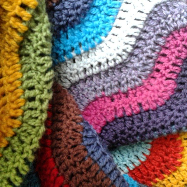 Easy Crochet Ripple Afghan Tutorial : hanrosieg crochet ripple