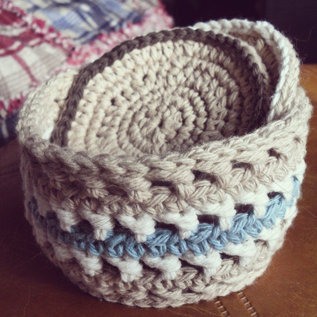 hayleyarious crochet basket