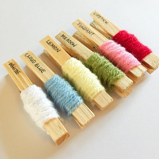 holly_pips yarn pegs