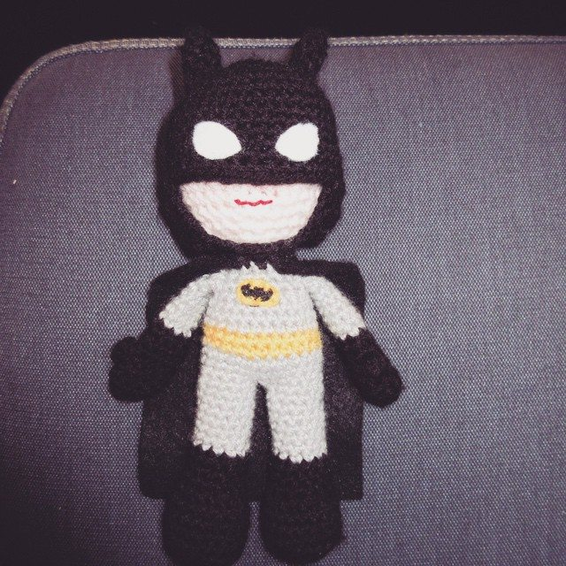 inspiringcrochet crochet batman