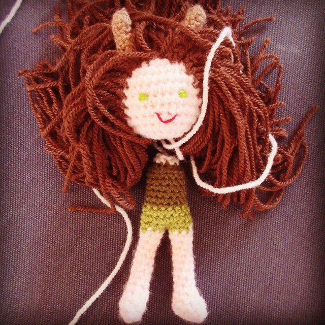 inspiringcrochet crochet doll