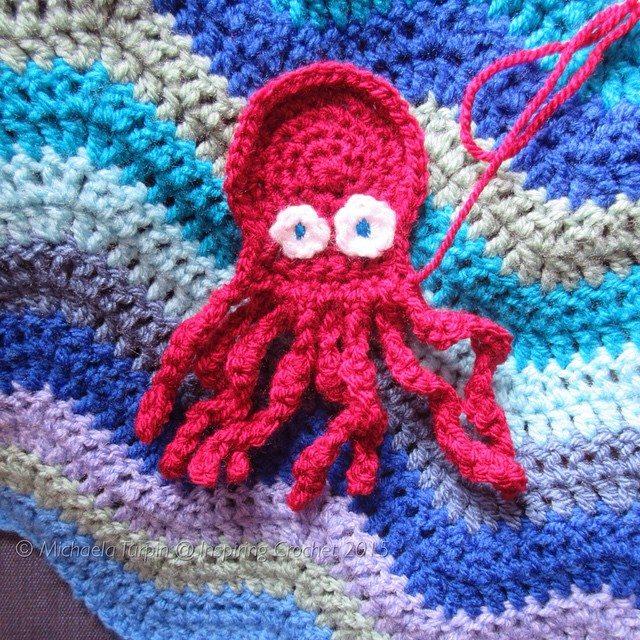 inspiringcrochet crochet octopus