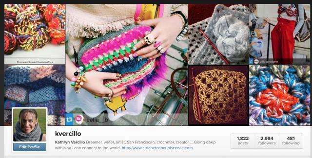 instagram crochet vercillo