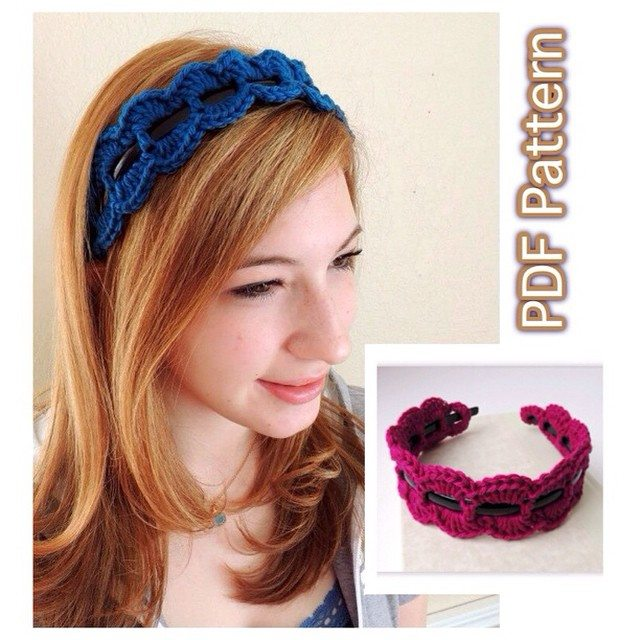 joyfuljaxcrochets.and.knits crochet headband pattern