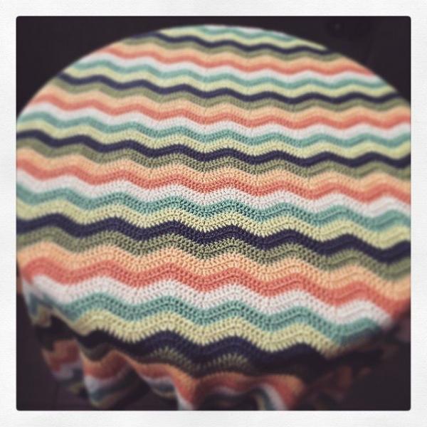 knitpurlhook gehaakte rimpel dekens