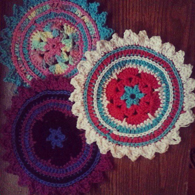 krystlewvscrochet crochet hotpads