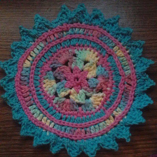 krystlewvscrochet crochet mandala