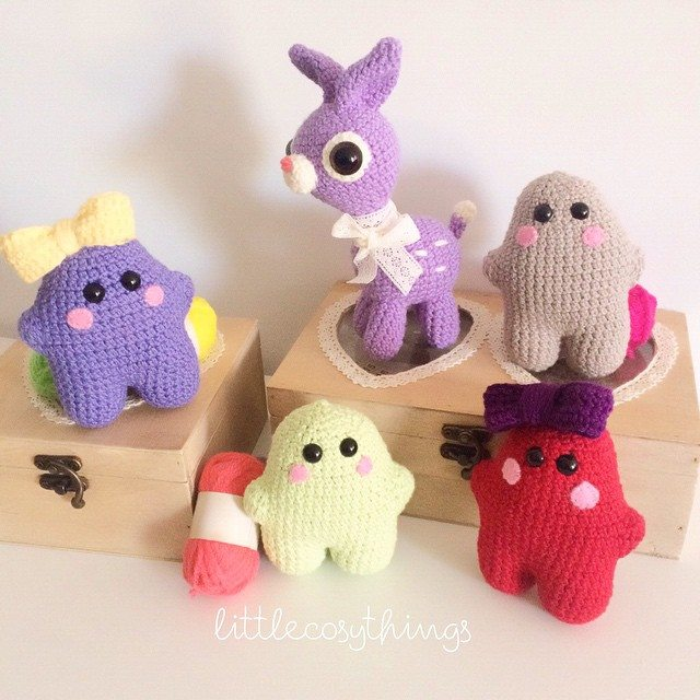 littlecosythings crochet animal