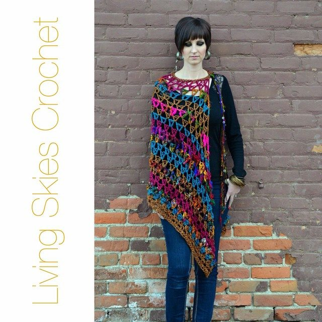 livingskiescrochet crochet shawl
