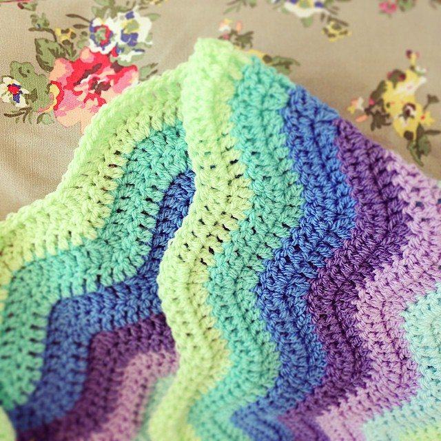loucamp crochet pastel ripple
