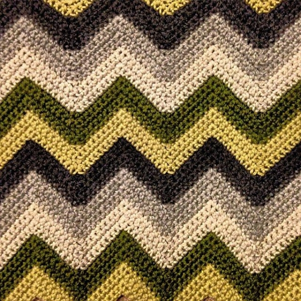 Crochet Stitches Chevron : Crochet Inspiration: 60 Chevrons, Ripples, Waves (Patterns and Photos ...