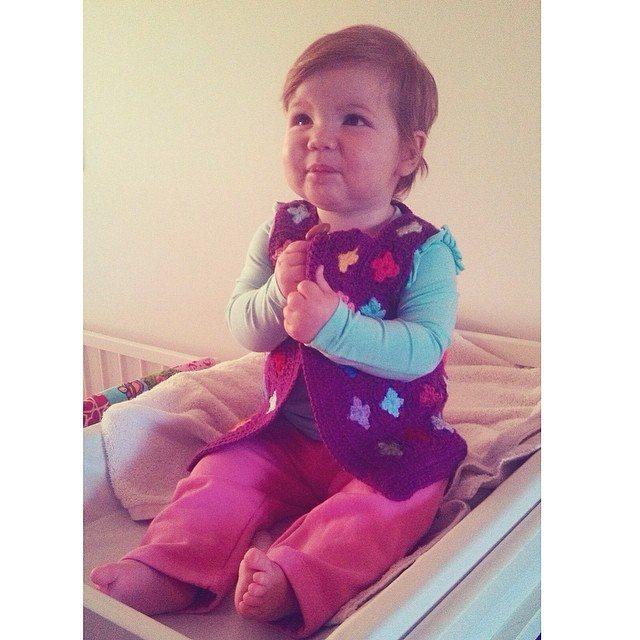 lyndapc crochet baby vest