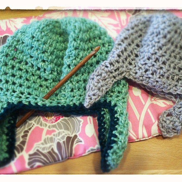 madeinballard crochet earflap hat