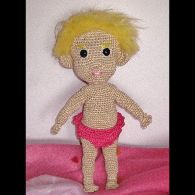 magneticmary crochet doll