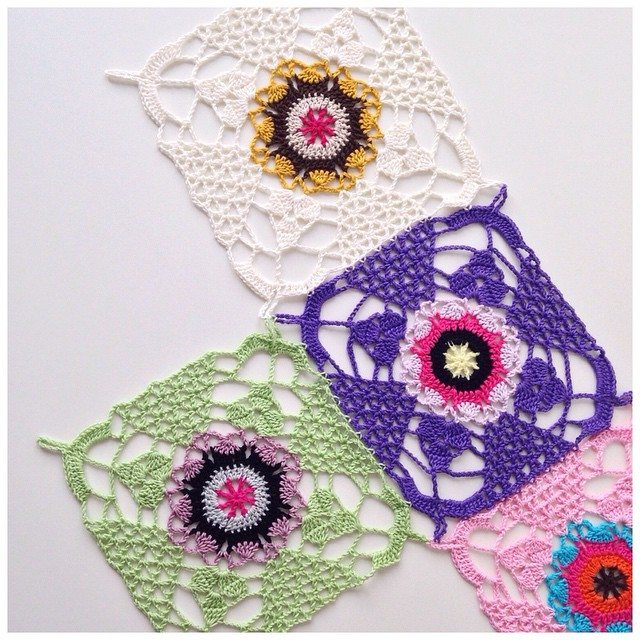 marretjeroos crochet colorful squares