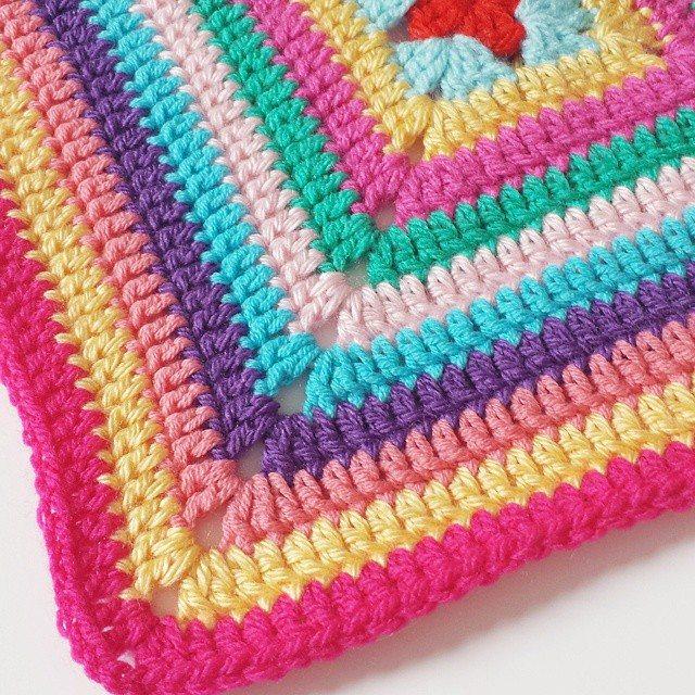 missmotherhook crochet colorful square