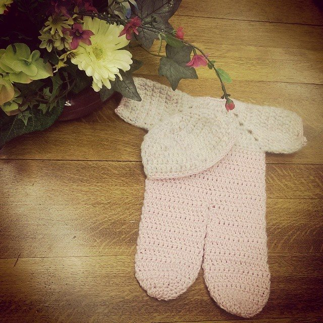 mlissabethgr crochet baby set