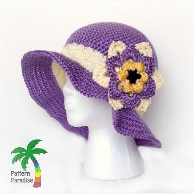 patternparadise crochet hat pattern