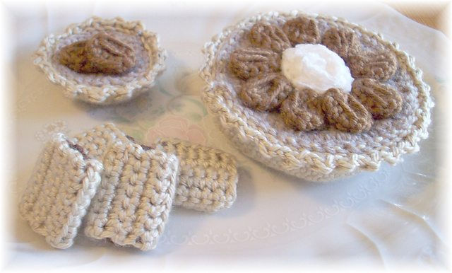 pecan pie crochet pattern