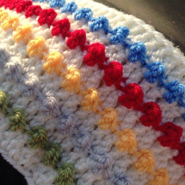 peeka_bo_crochet crochet baby blanket