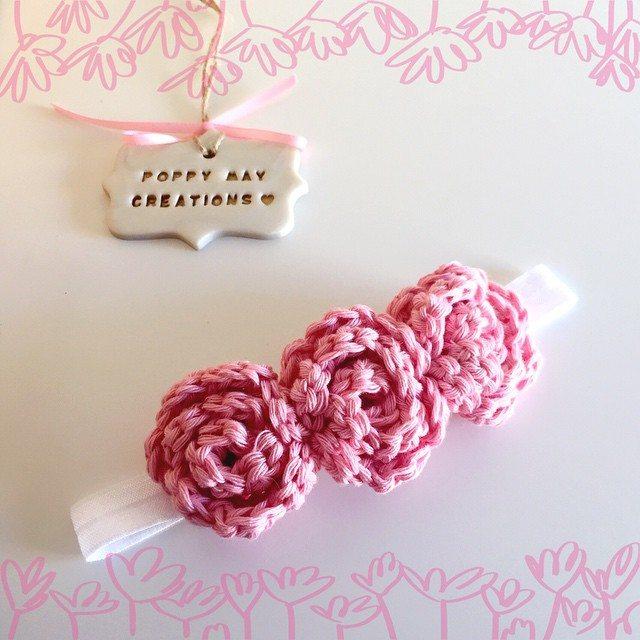 poppymaycreations crochet headband