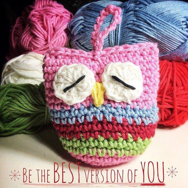 queen_babs crochet owl