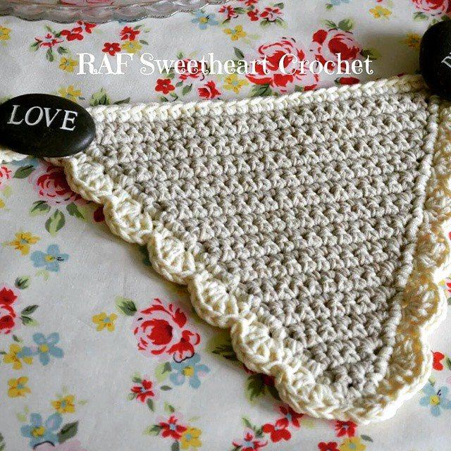rafsweetheart crochet bunting