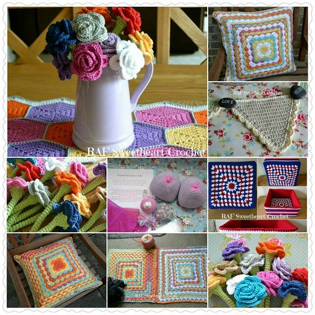 rafsweetheart crochet march collage