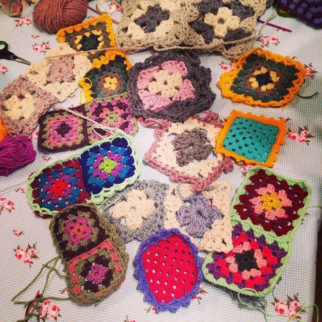 raftyecxperiment crochet squares
